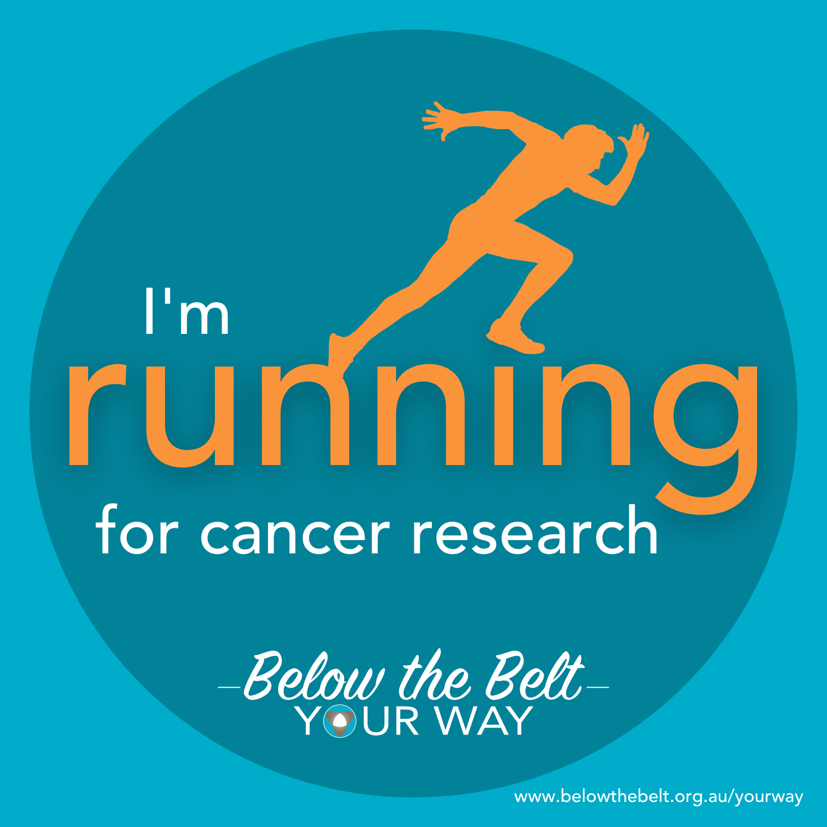 I'm running for research - Style 2