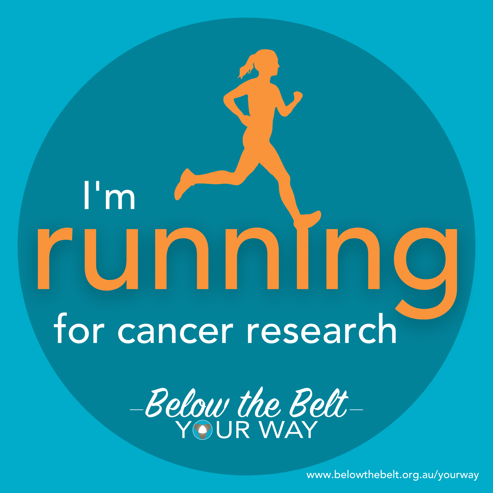 I'm running for research - Style 1